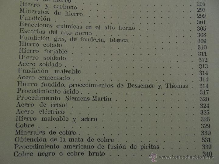 Libros antiguos: TRATADO DE QUIMICA INDUSTRIAL. H.OST. TR. FELIPE VILLAVERDE-EUGENIO FERRER DALMAU. VER FOTOGRAFIAS. - Foto 50 - 53095397