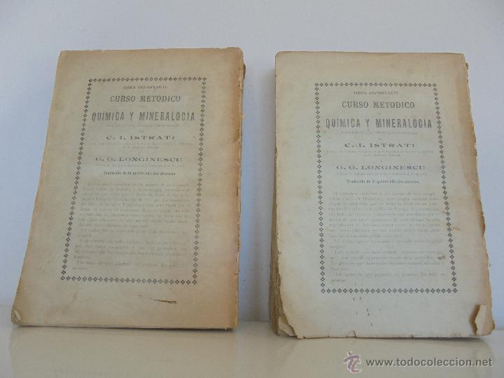 Libros antiguos: TRATADO DE QUIMICA INDUSTRIAL. H.OST. TR. FELIPE VILLAVERDE-EUGENIO FERRER DALMAU. VER FOTOGRAFIAS. - Foto 54 - 53095397