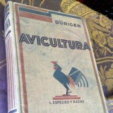 Libros antiguos: AÑO 1931.- GRAN LIBRO DE TRATADO DE AVICULTURA. Lote 28269709
