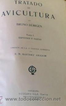 Libros antiguos: AÑO 1931.- GRAN LIBRO DE TRATADO DE AVICULTURA - Foto 6 - 28269709