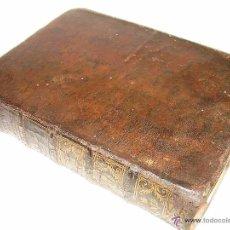 Libros antiguos: LIBRO TAPAS PIEL....ELEMENTOS DE MATEMATICA..(HIDRODINAMICA)....BENITO BAILS....AÑO..1.780. Lote 53285083