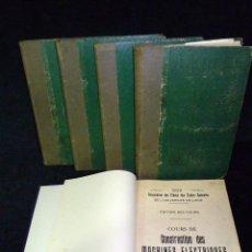 Libros antiguos: CURSO DE CONSTRUCCIÓN DE MÁQUINAS ELÉCTRICAS. UNIVERSITÉ DE LIEGE. 5 VOL. 1929-32. Lote 53628522