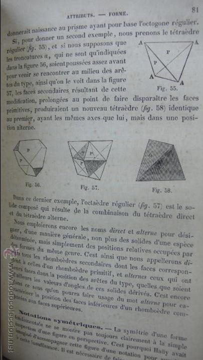 Libros antiguos: COURS DE MINÉRALOGIE (HISTOIRE NATURELLE). A. LEYMERIE. 2 VOL. 1867. - Foto 4 - 54347648
