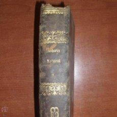 Libros antiguos: LECCIONES DE HISTORIA NATURAL POR AGUSTIN YAÑEZ Y GIRONA. ZOOLOGIA. RUBRICA AUTOR. AÑO 1844. Lote 54351857