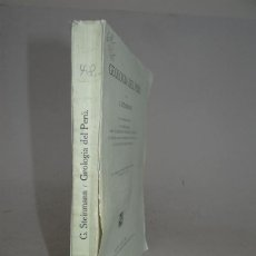 Libros antiguos: 1930 - STEINMANN - GEOLOGIA DEL PERU - ILUSTRADO. Lote 54441393