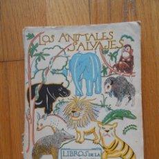 Libros antiguos: LOS ANIMALES SALVAJES, LIBROS DE LA NATURALEZA, ESPASA CALPE. Lote 54575049