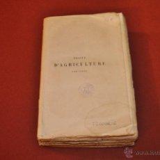 Libros antiguos: TRAITÉ ÉLÉMENTAIRE D'AGRICULTURE TOME SEGOND 1885. Lote 54676190