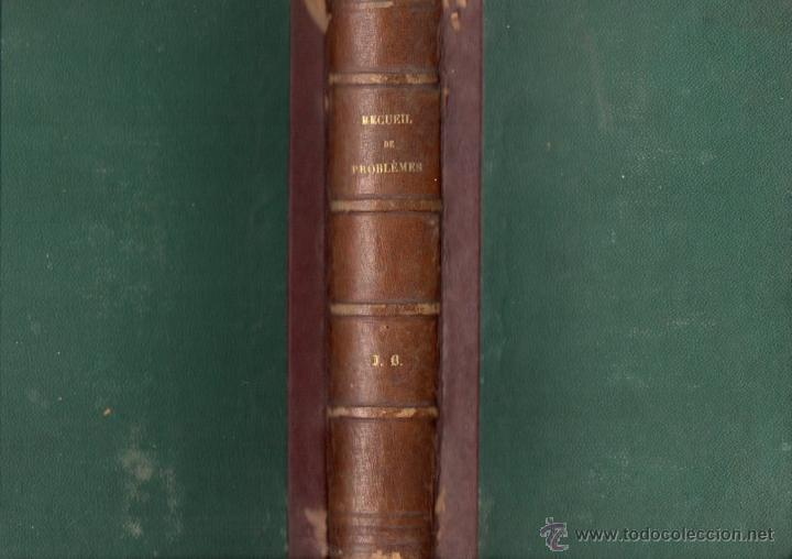 Libros antiguos: GREMILLIET : RECUEIL DE PROBLEMES AMUSANTS ET INSTRUCTIFS (COTELLE, PARIS, 1865) - Foto 1 - 54723343