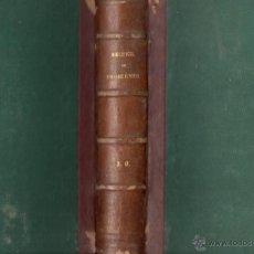 Libros antiguos: GREMILLIET : RECUEIL DE PROBLEMES AMUSANTS ET INSTRUCTIFS (COTELLE, PARIS, 1865). Lote 54723343