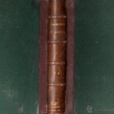 Libros antiguos: RITT : PROBLEMES D'ALGEBRE (HACHETTE, PARIS, 1874). Lote 54723392
