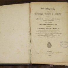 Libros antiguos: 6403- NOVISIMA GUIA DEL HORTELANO. BALBINO CORTES. IMP. COLEGIO DE SORDOMUDOS. 1885.. Lote 49574744