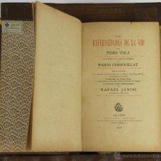 Libros antiguos: 6404- LAS ENFERMEDADES DE LA VID. PEDRO VIALA. EDIT. PASCUAL AGUILAR. 1891.. Lote 49574950