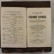 Libros antiguos: 5464 - DICTIONNAIRE UNIVERSEL D'HISTOIRE NATURELLE. CHARLES D'ORBIGNI. 1847. 13 VOL.. Lote 45859699