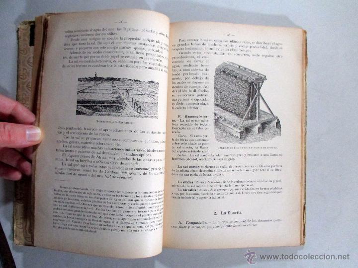 Libros antiguos: ELEMENTOS DE MINERALOGÍA , SCHMEIL PARDILLO , GUSTAVO GILI , BARCELONA 1926 - Foto 4 - 54941472
