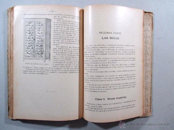 Libros antiguos: ELEMENTOS DE MINERALOGÍA , SCHMEIL PARDILLO , GUSTAVO GILI , BARCELONA 1926 - Foto 5 - 54941472