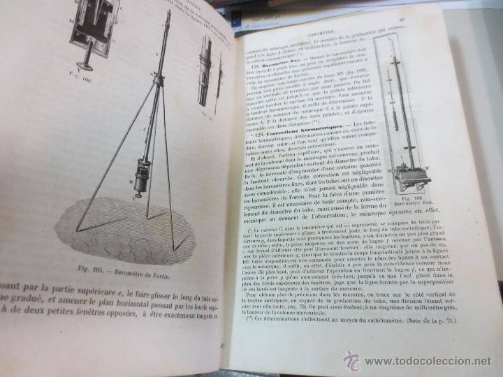 Libros antiguos: TRAITÉ DE PHYSIQUE ÉLÉMENTAIRE CH. DRION ET É. FERNET EDIT G. MASSON AÑO 1872 SIGLO XIX - Foto 4 - 55006120