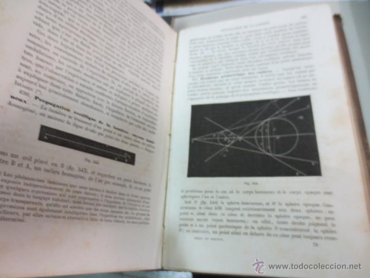 Libros antiguos: TRAITÉ DE PHYSIQUE ÉLÉMENTAIRE CH. DRION ET É. FERNET EDIT G. MASSON AÑO 1872 SIGLO XIX - Foto 5 - 55006120
