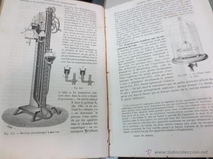 Libros antiguos: TRAITÉ DE PHYSIQUE ÉLÉMENTAIRE CH. DRION ET É. FERNET EDIT G. MASSON AÑO 1872 SIGLO XIX - Foto 7 - 55006120