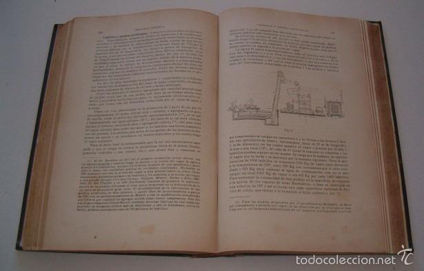 Libros antiguos: Química General y aplicada a la Industria. Química Inorgánica Tomos I y II. DOS TOMOS. RM73783. - Foto 3 - 55103547