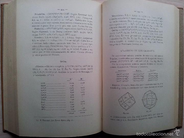 Libros antiguos: COMPENDIO DE MINEROLOGIA, APLICADA A LA FARMACIA, INDUSTRIA Y AGRICULTURA - SEGUNDA EDICION 1906 - Foto 3 - 55227059
