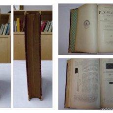 Libros antiguos: TRATADO ELEMENTAL DE FISIOLOGÍA HUMANA, VIAULT Y JOLYET 1900. Lote 56027555