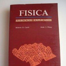 Libros antiguos: EJERCICIOS DE FISICA EXPLICADOS SELECTIVIDAD. Lote 56158733