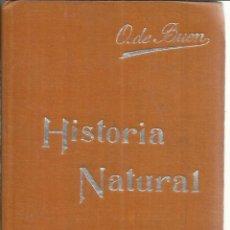 Libros antiguos: HISTORIA NATURAL. TOMO II. MANUALES SOLER. BARCELONA. Lote 56250344
