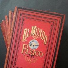 Libros antiguos: EL MUNDO FÍSICO. 1882. Lote 56479189
