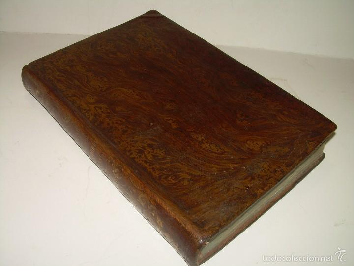 LIBRO TAPAS PIEL...HISTORIA NATURAL....ZOOLOGIA,BOTANICA,MINERALOGIA,ZOOGRAFIA.ETC..AÑO 1.870 (Libros Antiguos, Raros y Curiosos - Ciencias, Manuales y Oficios - Biología y Botánica)