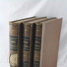 Libros antiguos: 3 ANTIGUOS LIBROS - HISTORIA NATURAL. DR. AE BREHM. T. 1, 2 Y 3 - ED. MONTANER Y SIMÓN, AÑO 1880. Lote 56542494