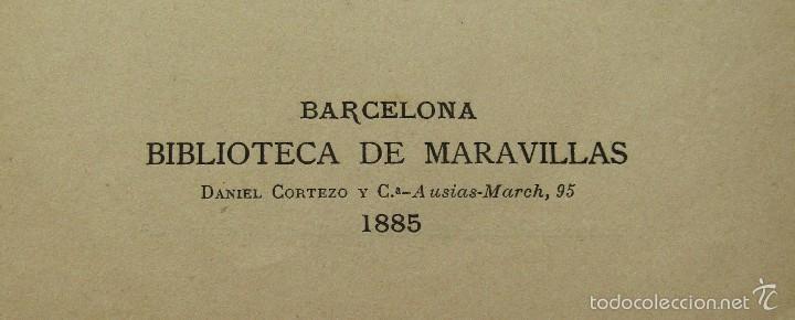 Libros antiguos: AMOR MATERNAL EN LOS ANIMALES BIBLIOTECA MARAVILLAS CECILIO NAVARRO ILUST. A.MENSEL AÑO 1885 - Foto 3 - 56573432