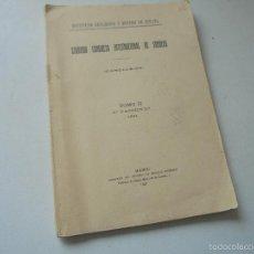 Libros antiguos: INSTITUTO GEOLÓGICO Y MINERO DE ESPAÑA-SEGUNDO CONGRESO INTERNACIONAL DE SONDEOS, CONCLUSIÓN-TOMO II. Lote 56654820