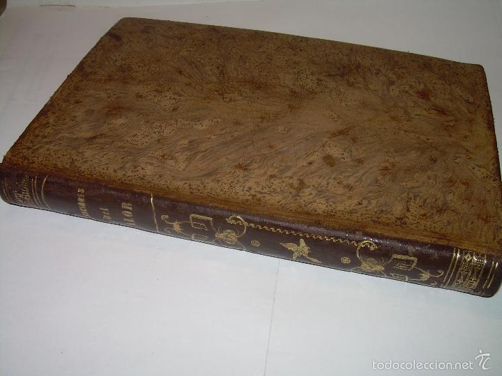 Libros antiguos: LIBRO TAPAS DE PIEL.......APLICACIONES DEL CALOR....AÑO...1.885........CON GRABADOS. - Foto 3 - 56821476