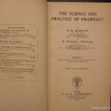 Libros antiguos: THE SCIENCE AND PRACTISE OF PHARMACY, R.R. BENNETT. Lote 56942428