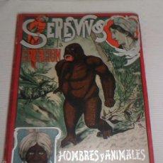 Libros antiguos: SERES VIVOS DE LA CREACION - EDIT. NUEVO MUNDO - 1905 - TOMO 2 - AVES , PECES , ARTROPODOS... - RARO. Lote 57009673