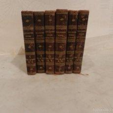 Libros antiguos: (M) M.STURM .LUIS COUSIN DESPRÉAUXD D TOMÁS CUCHI - REFLEXIONES SOBRE LA NATURALEZA 1851 - 6 VOLUME. Lote 57120175