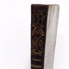 Libros antiguos: ANTIGUO LIBRO CON TAPAS DE PIEL AÑO 1.869-ELEMENTOS DE MATEMATICAS ARITMETICA Y ALGEBRA. Lote 48679507