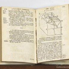 Libros antiguos: LP-254 - EUCLIDIS ELEMENTORUM. LIBRI XV. BARROW. LONDINI. 1659.. Lote 57209153