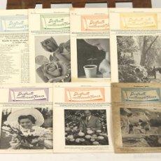 Libros antiguos: 7610 - DISFRUTE CULTIVANDO FLORES. 7 EJEM(VER DESCRIP). IMP. EMILIO CANET. 1960/1962.. Lote 57324338