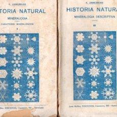 Libros antiguos: ZIMMERMANN : MINERALOGÍA . DOS TOMOS (GASSÓ, C, 1920). Lote 57379028