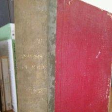 Libros antiguos: ELEMENTOS DE ANÁLISIS ALGEBRAICO. J. REY PASTOR. QUINTA EDICIÓN CORREGIDA. 1935.. Lote 57419484