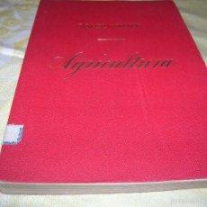 Libros antiguos: MUY INTERESANTE LIBRO AGRICULTURA,POR LOPEZ VIDAUR .SEGUNDA EDICIÓN ,AÑO 1887. Lote 57690274
