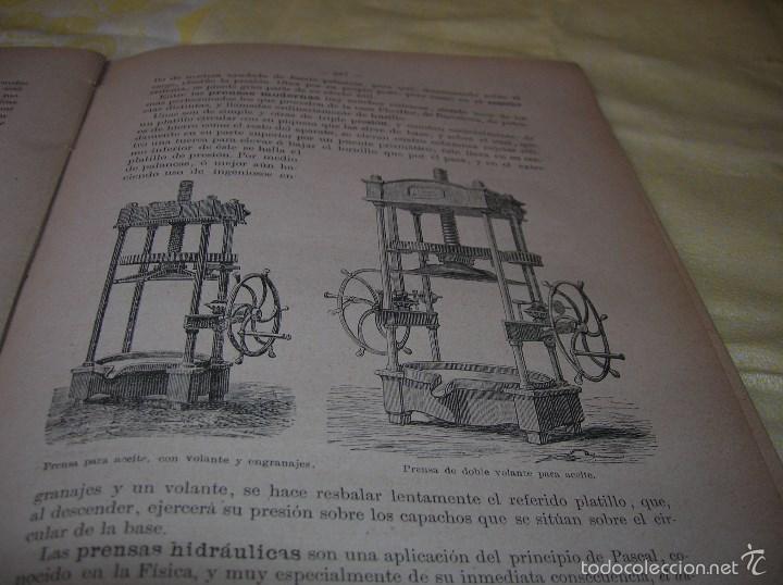 Libros antiguos: Muy interesante libro Agricultura,por Lopez Vidaur .Segunda edición ,año 1887 - Foto 5 - 57690274