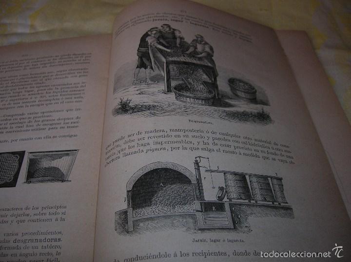 Libros antiguos: Muy interesante libro Agricultura,por Lopez Vidaur .Segunda edición ,año 1887 - Foto 7 - 57690274