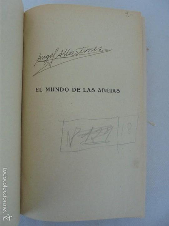 Libros antiguos: COLECCION DE LIBROS SOBRE INSECTOS. TODOS FOTOGRAFIADOS. 3 LIBROS SOBRE ABEJAS. 13 LIBROS EN TOTAL. - Foto 11 - 57691855