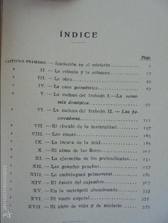 Libros antiguos: COLECCION DE LIBROS SOBRE INSECTOS. TODOS FOTOGRAFIADOS. 3 LIBROS SOBRE ABEJAS. 13 LIBROS EN TOTAL. - Foto 15 - 57691855
