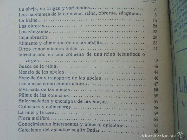 Libros antiguos: COLECCION DE LIBROS SOBRE INSECTOS. TODOS FOTOGRAFIADOS. 3 LIBROS SOBRE ABEJAS. 13 LIBROS EN TOTAL. - Foto 22 - 57691855