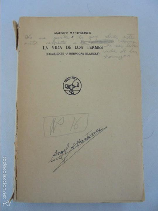 Libros antiguos: COLECCION DE LIBROS SOBRE INSECTOS. TODOS FOTOGRAFIADOS. 3 LIBROS SOBRE ABEJAS. 13 LIBROS EN TOTAL. - Foto 31 - 57691855
