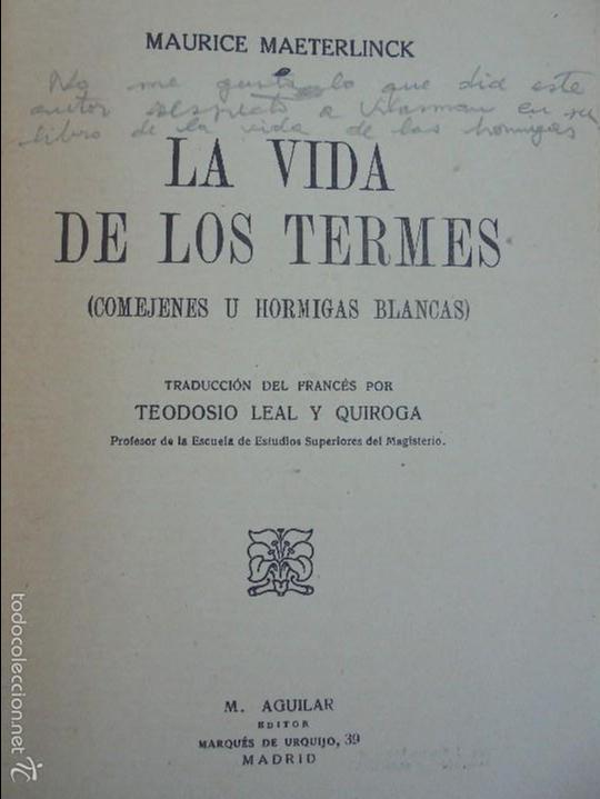 Libros antiguos: COLECCION DE LIBROS SOBRE INSECTOS. TODOS FOTOGRAFIADOS. 3 LIBROS SOBRE ABEJAS. 13 LIBROS EN TOTAL. - Foto 32 - 57691855