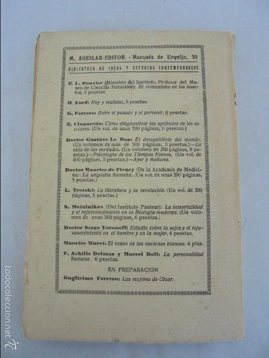Libros antiguos: COLECCION DE LIBROS SOBRE INSECTOS. TODOS FOTOGRAFIADOS. 3 LIBROS SOBRE ABEJAS. 13 LIBROS EN TOTAL. - Foto 37 - 57691855